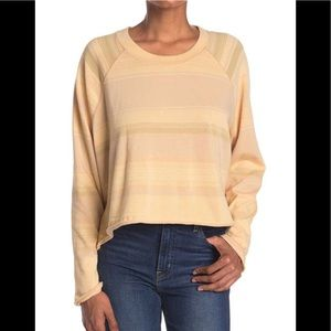 Free People L/S Cropped Top